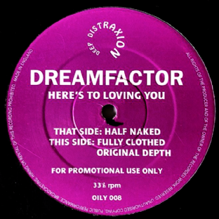 "Dreamfactor ‎- Here's To Loving You (12"") (Promo) (G++/G)"
